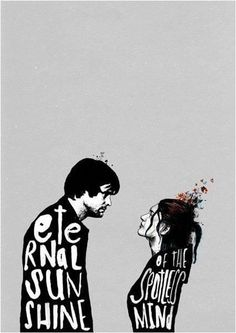 beautiful film poster for eternal sunshine of the spotless mind