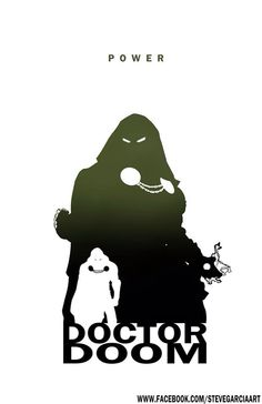 Dr. Doom - Power By Steve Garcia