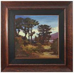 Along the Coast - Original Oil Painting by Jan Schmuckal - Dard Hunter Studios