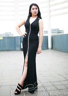 Cientos de bellezas: Liu, la dirección de la mujer mujer asiática
