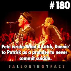 I'm not crying, I just have Fall Out Boy in my eye