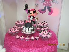 """Minnie mouse birthday theme 