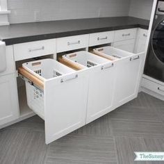 7. Install Drawers Baskets For Sorting!