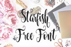 DLOLLEYS HELP: Starfish Free Font