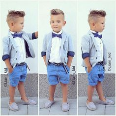 0ded86ddf New Gentleman Baby Boy T-shirt+Suspender Trousers Overall Suits for ...