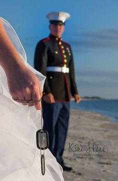 My best friend's wedding day!! Semper fi
