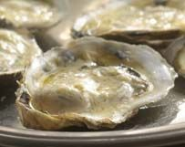 Morro Bay BBQ Oysters With  Parmesan Cheese