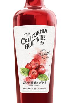 Say hello to fall with our new Cranberry wine. Refreshing and fruit-forward, this wine is the perfect drink to cozy up with. Serve well chilled.