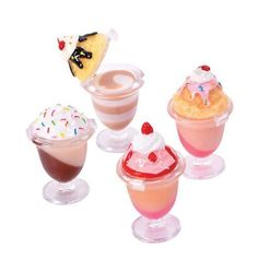 12 Pc Desert Sundae Lipgloss Party Favors Assortment by RIN, http://www.amazon.com/gp/product/B003TLPZUM/ref=cm_sw_r_pi_alp_JNDbqb0F7H12Y Lip Balm Brands, Lip Gloss, Crazy Makeup, Cute Makeup, Kawaii Makeup, Pretty Makeup, Goody Bags, Favor Bags, Lip Balms