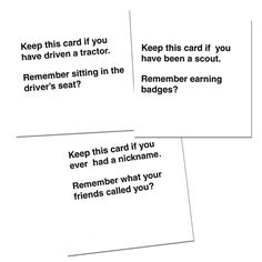 cards Memory therapy adult playing games