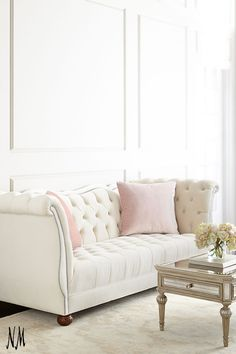 Envelop yourself in elegance with this Haute House Gigi Tufted Sofa.
