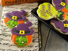Halloween Witch Cookies | Cookie Connection