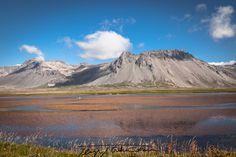 Typical unique landscape of Iceland.