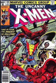 john byrne x-men | men #129 - John Byrne art & cover (1st Kitty Pryde, 1st Emma Frost)