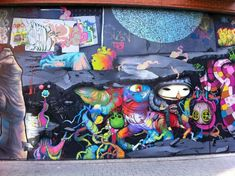 Just interesting   (Colorful Graffiti)