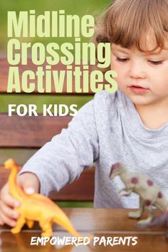 Crossing the midline is an important building block in developing your kids' pre-writing skills. Here are 15 fun midline crossing activities to try at home or in the classroom. Dementia Activities, Therapy Activities, Educational Activities, Toddler Activities, Preschool Activities, Motor Activities, Writing Prompts For Kids, Pre Writing, Writing Skills