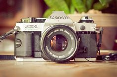 My first Canon AE-1