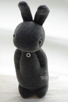 Grace--#277 Sock Domy Rabbit