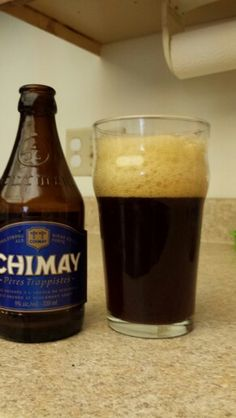 Chimay Grand Reserve (Blue Cap). A trappist beer.