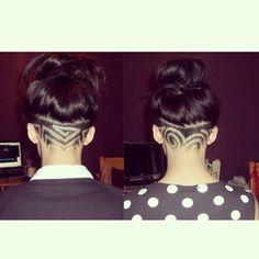 Undercut Design // Shornnape // Hair Tattoo // Barber Designs