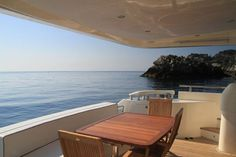GAFFE is a luxury motor yacht available for charter in Italy, Naples, Sicily, built in Luxury accommodation is for 9 guests in 4 cabins! Book a yacht charter now with Contact Yachts! Motor Yacht, Luxury Accommodation, Yachts, Outdoor Furniture, Outdoor Decor, Naples, Sicily, Sun Lounger, Cabin