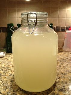 Probiotic Lemonade- healthy homemade lemonade that is packed with probiotics.
