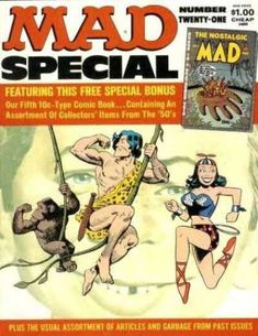 A cover gallery for the comic book Mad Special Mad Magazine, Magazine Covers, Comic Book Covers, Comic Books, Alfred E Neuman, American Humor, Mad Women, Magazine Pictures, You Mad