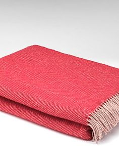 We have Mc Nutts Donegal Pure Wool Herringbone Blankets in stock in a selection of colours |