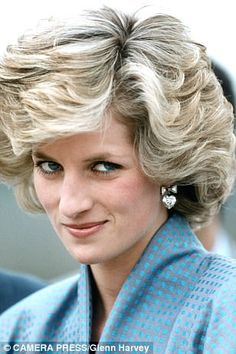 Diana hairstyle that was her crowning glory | Daily Mail Online
