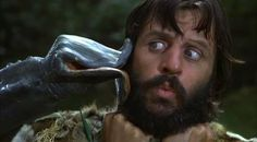 Ringo Starr in Caveman movie Ringo Starr, Eddie Vedder, Chris Cornell, Cult Movies, Iconic Movies, George Harrison, Paul Mccartney, Great Bands, Cool Bands