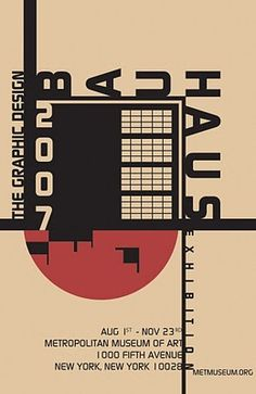This piece reflects the hierarchy and juxtaposition of the Bauhaus movement of the 1920's.