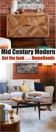 Mid Century Modern - get the look!
