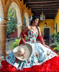 Charra Mexicana Inspired Quinceañera . Mexican quinceañera.