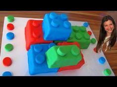 Lego Cake: How to make a Lego Cake