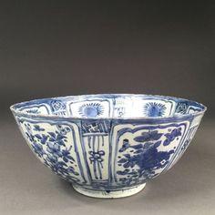 Chine, Bol en porcelaine, époque Ming, règne de Wanli (1573-1619)