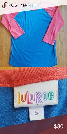 LULAROE Randy Size Small Cute LULAROE Randy top. Size Small. Only worn once and…