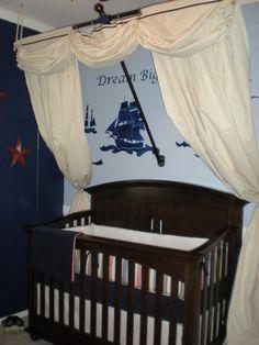 Pirate NURSERY room