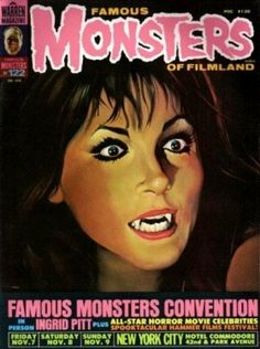 Famous Monsters Of Filmland Magazine Covers 122-191 - Retronaut