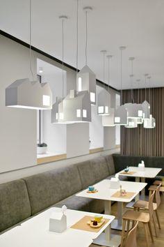 Вариант подвесных светильников(можно сделать самим) под стандартный патром Kukumuku / Plazma Architecture Studio