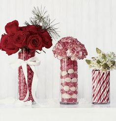 Centerpiece and Decoration ideas for the annual Holiday Party.