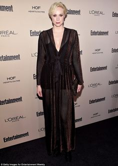 Two parties, one night:Gwendoline looked incredible in the gown, which she opted to also ...