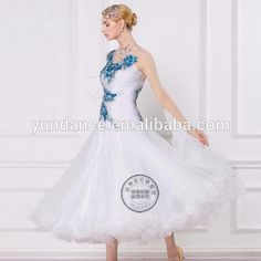 tailor made waltz dancing dress competition B-16206, View waltz dancing dress, Yundance Product Details from Shenzhen Yundance Dress Design Co., Ltd. on Alibaba.com