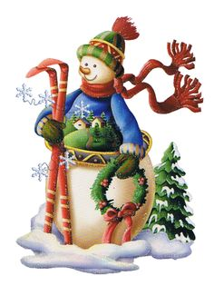 Christmas snowman clipart big 800x1071