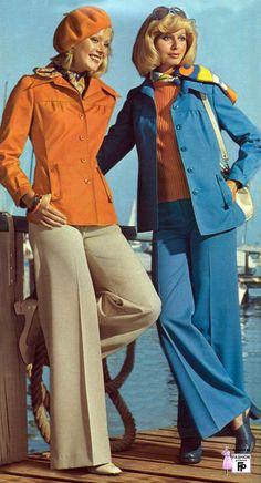 Juniors Fashion 1975 Mid Mod Mail Order Fashion In
