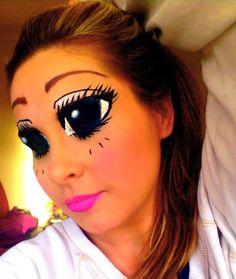 large eyes makeup - Google Search