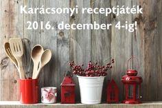 Karácsonyi receptjáték 2016. december 4-ig a PROAKTIVdirekt.com-on! - PROAKTIVdirekt Életmód magazin és hírek - proaktivdirekt.com