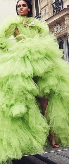 Lime Sherbet, Rainbow Fashion, Italian Fashion Designers, Opera, Emerald, Villa, Gloves, Glamour, Skirts