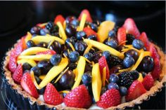 Fruit and Berry Tart
