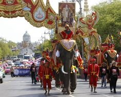Events across Thailand in May - Labor Day in Thailand