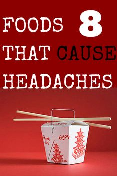 8 Foods That Trigger Headaches
